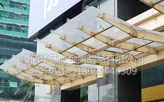 钢结构雨棚08